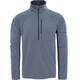 """The North Face M's Ambition 1/4 Zip Long Sleeve Shirt TNF Medium Grey Heather/Asphalt Grey"""